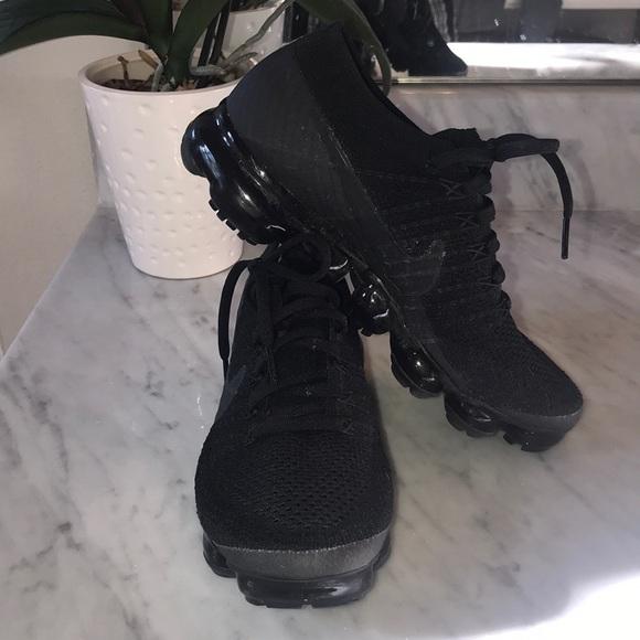 brand new 9118f d4518 Women's Nike black vapormax shoes size 8